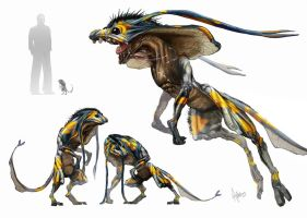 Horntail full image by ATAnderson