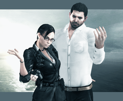 Sheva and Chris by Weskervit789