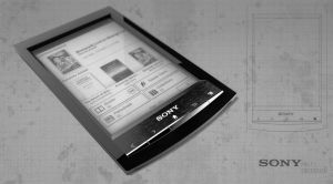 sony PRS-T1 reader by 3DEricDesign