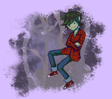 Marshall Lee the Vampire King by siquia