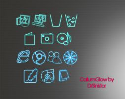 CallumGlow dock icons v1.1 by DrSinistor