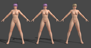 Dead Or Alive 5 LR (Nude) Ayane by Irokichigai01
