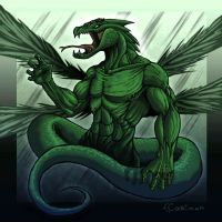 Couatl from Shadow hunters by Cariman