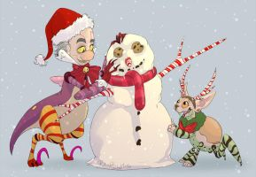 Lets Build a Snowman by Rodent-blood