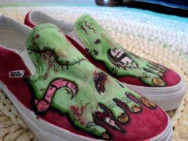 Zombie Shoes 2 by DevouringCrayons