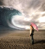 big wave in the desert by robsonbatista