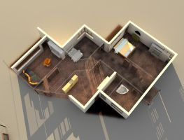 3D FloorPlan by algerienBBA