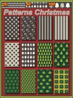 Patterns Christmas collection 2 by Tetelle-passion
