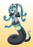 Vocaloid Modest Medusa by JakeRichmond