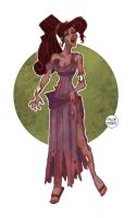 Zombie Megara by LaTaupinette