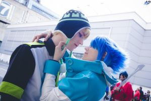 Dramatical Murder Noize Aoba - Close Up by Hirako-f-w