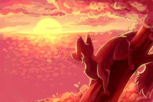 Sunset by TacoNoobGamer