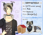 [Happy Tails App] - Riley by myneea