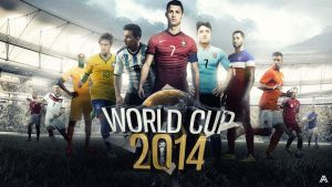 World Cup 2014 - Brazil by AlbertGFX