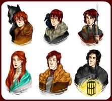 Stark Children by Khana-Shimmi