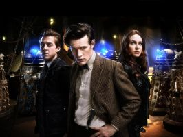 Asylum of the Daleks wallpaper by LaMoonstar