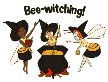 Bee-Witching! by purinpuff
