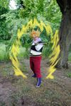 Son Goku Super Saiyan Yardrat Cosplay by Yugoku-chan