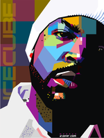 ICE CUBE POP ART by ndop