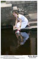 Fetching Water.6 by Della-Stock