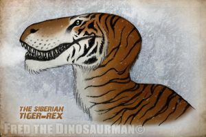 The Siberian T-Rex by FredtheDinosaurman