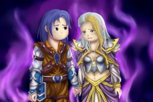 Commission - Kalec and Jaina by syris-darkness