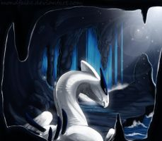 Secret place for Lugia by Mondfalke