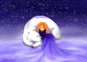 The Polar Bear King by Miria696
