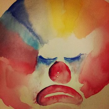 My Colour Wheel is a Sad Clown by Lydia-distracted