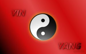 Yin and yang by eyeknife