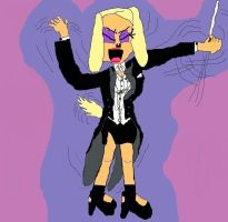 Brandy Harrington, Conductor (self-drawn version) by TheSkull31