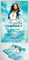 Tequila Tuesday Flyer Template by MadFatSkillz