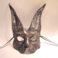 A Little Creepy...Rabbit Mask by teonova
