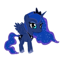Luna Chibi by IcyPanther1