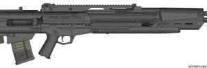 Weapons: ACG-74 by purpledragon104