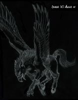 Dark Hippogriff by Anna-XIII