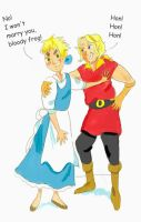 APH - BEAUTY AND THE BEAST by barmybritishbird