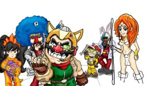 FoxWare Wario and Co by pathwreck