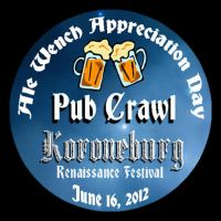 Pub Crawl Button Kburg 2012 by tursiart