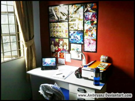 My workspace.. :D by AniBryanz