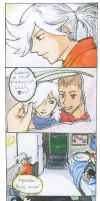 Zero and Lysander comic by Diamondsnake