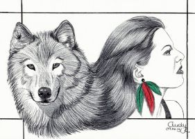 Wolf-Woman by Cindy-R