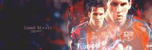 Messi Barcelona 3 by w6n3oshaq