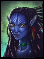AVATAR: Neytiri by johnbecaro