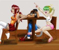 Girls Night Out by Keysey
