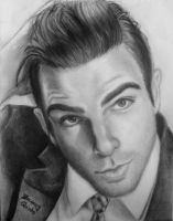 Zachary Quinto by drEminens
