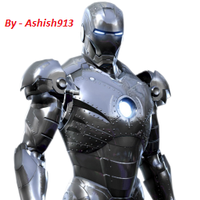 Iron man icon by Ashish913 by Ashish-Kumar