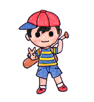 Tiny Ness by GlowSeal