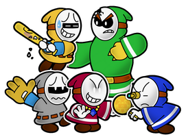 PM14: Band'O Thieves by The-PaperNES-Guy