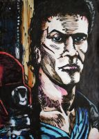 Ash Williams - Evil Dead by Thelostsoulofpop